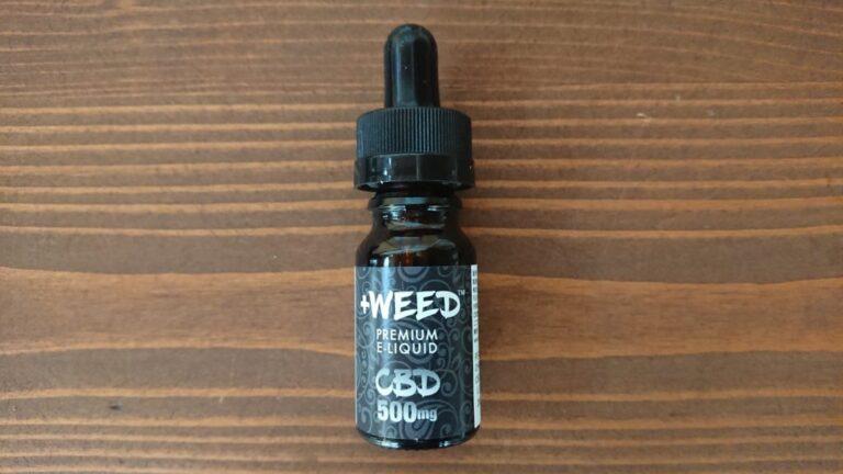 +WEED CBDリキッド5%