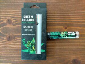 グリーンブルドッグ バッテリーセット CBDフルスペクトラム30%カートリッジ