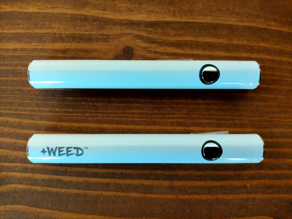 グリーンブルドッグとプラスウィード バッテリーの比較