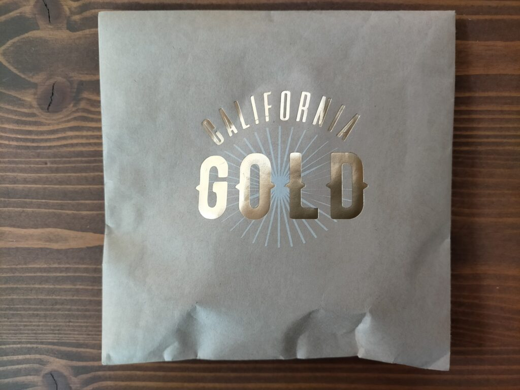 CALIFORNIA GOLD 包装